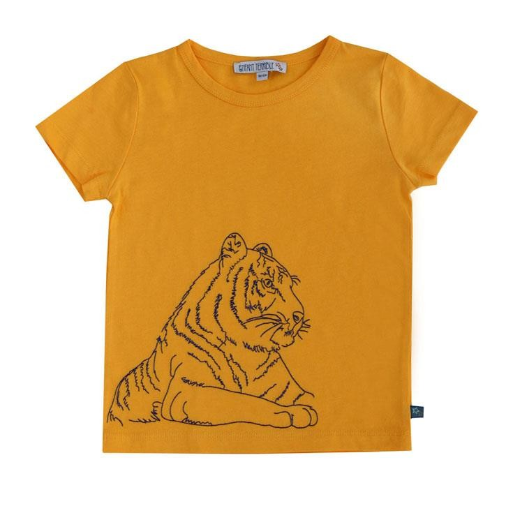 Enfant Terrible Shirt mit Tiger sun