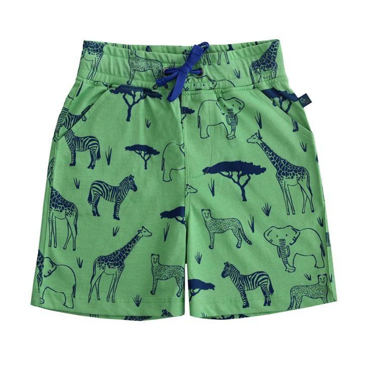 Enfant Terrible Shorts Safari Druck green-navy