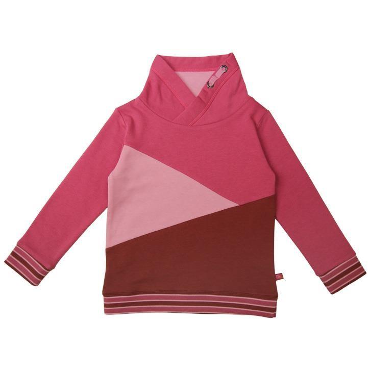 Enfant Terrible Sweatshirt mit Colourblocking  rost-erika