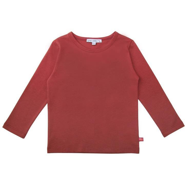 Enfant Terrible Uni Langarmshirt  rost