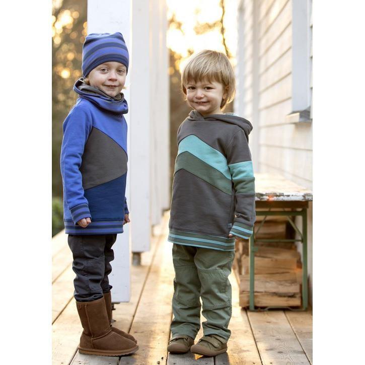 Enfant Terrible Webhose mit Jerseyfutter waldgrün