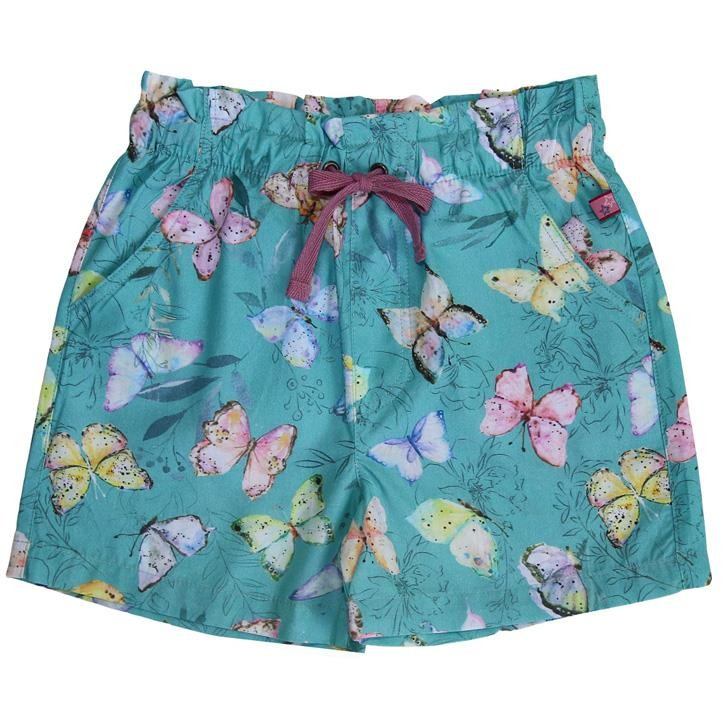 Enfant Terrible Webshorts Schmetterlinge jade-limone