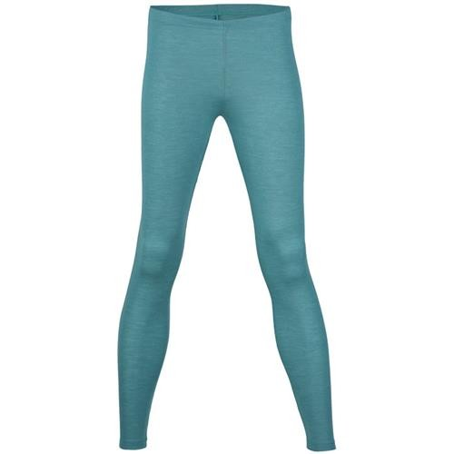 Engel Damen-Leggings, eisvogel, 42/44, 70Wolle/30Seide
