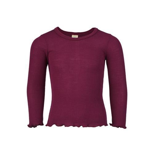 Engel Mädchen-Shirt, langarm, orchidee, 152, 70Wolle/30Seide