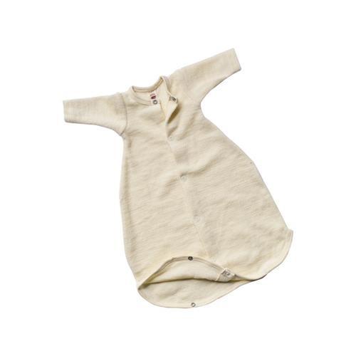 Engel Schlafsäckchen, langarm, natur, 2, Woll-Frottee