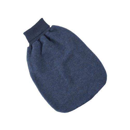 Engel Strampelsack, blau melange, 1, Woll-Fleece