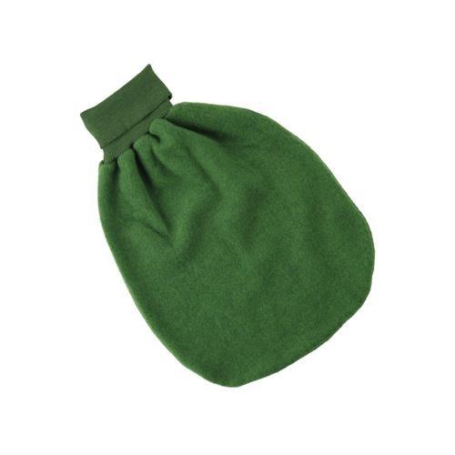 Engel Strampelsack, grün melange, 1, Woll-Fleece