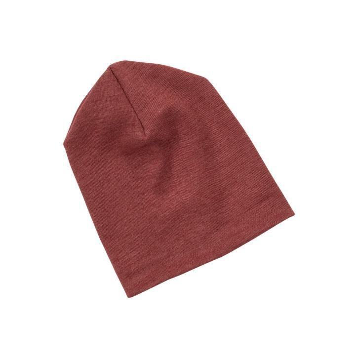 Engel Baby-Mütze, Wolle/Seide kupfer 110/116