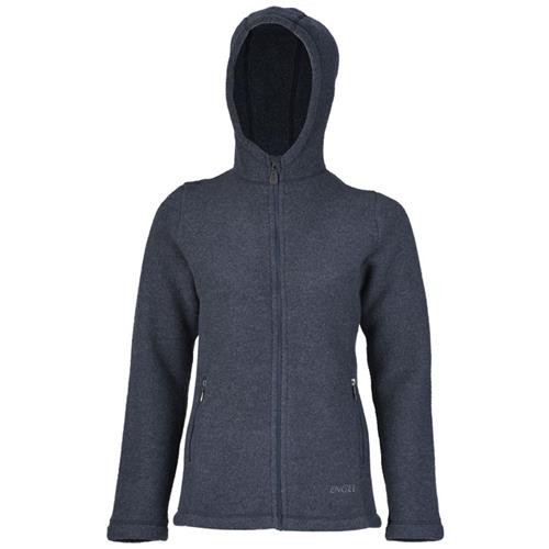 new product 1b3ed 6cfa2 Engel Damen-Jacke, m. Kapuze u. RV, denim melange, 42/44 ...