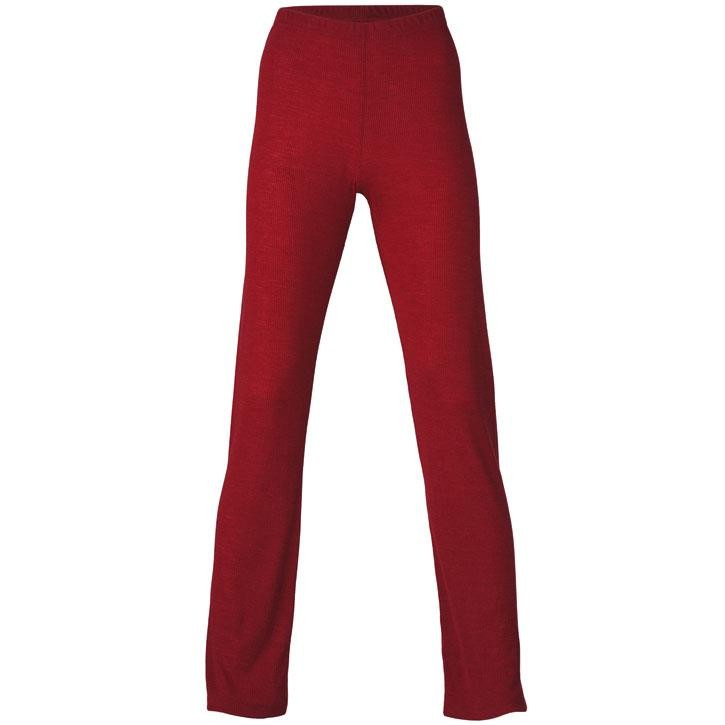 Engel Damen-Pyjamahose, malve, 70Wolle/30Seide