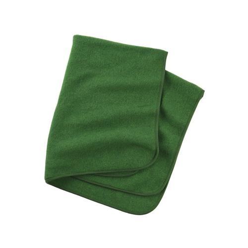 Engel Decke, grün melange, 1, Woll-Fleece