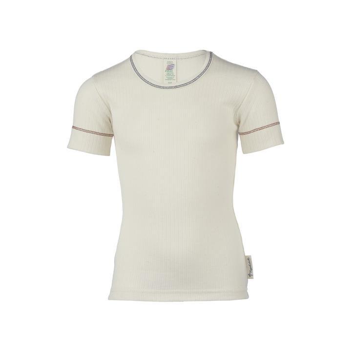 Engel Kinder-Shirt, kurzarm, IVN BEST - natur -