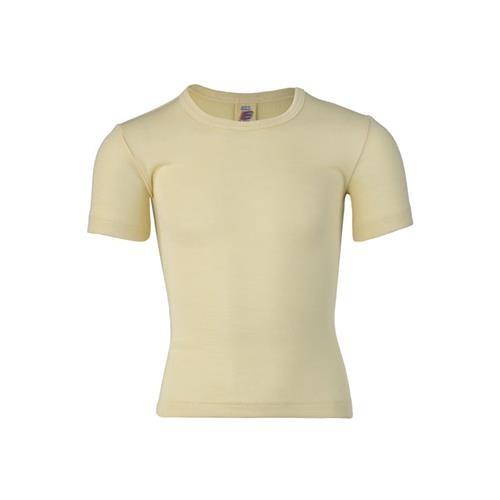 Engel Shirt, kurzarm, natur, 70Wolle/30Seide