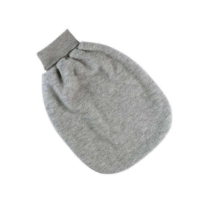 Engel Strampelsack, hellgrau melange, 1, Woll-Fleece