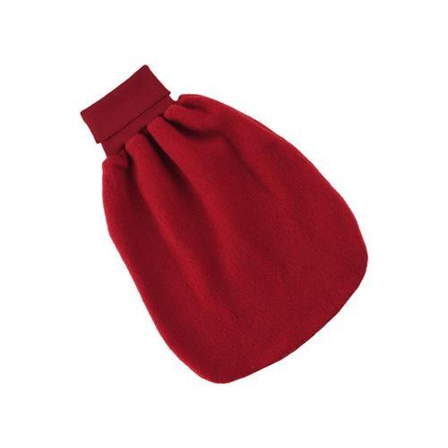 Engel Strampelsack, rot melange, 1, Woll-Fleece