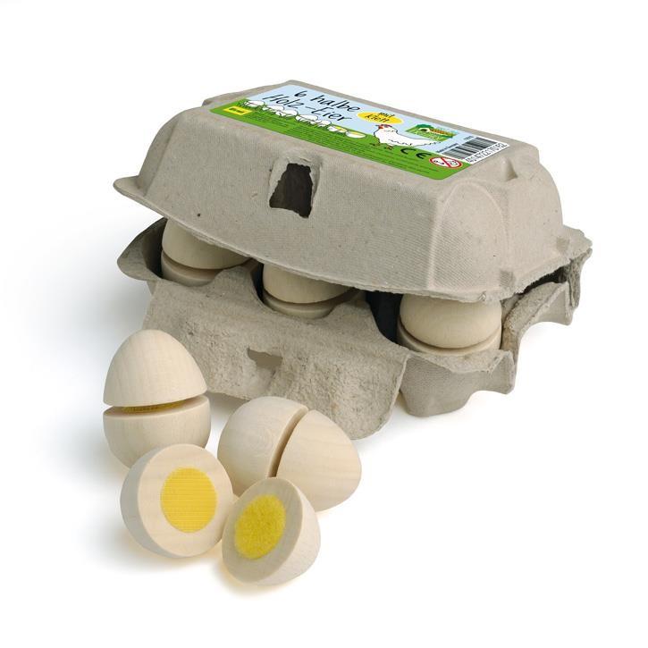 Erzi Eier, zum Schneiden im Karton 17015