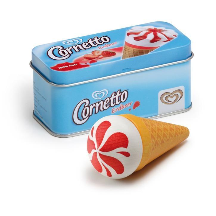 Erzi Eis Cornetto Erdbeer in der Dose 14005