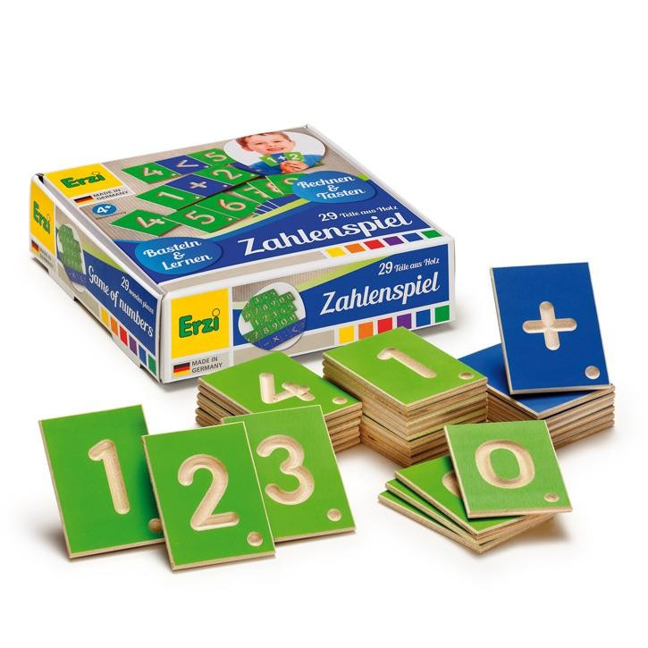 Erzi Lernspiel Zahlen 42032