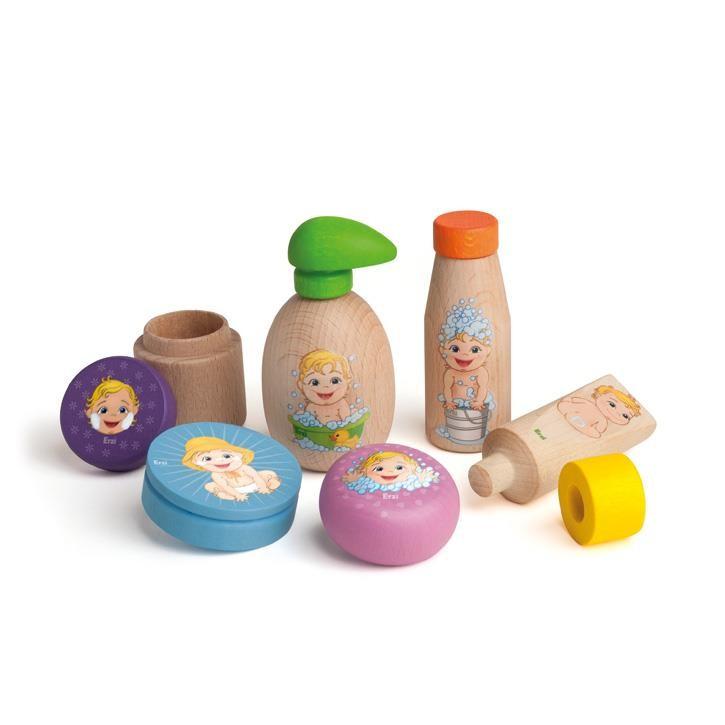 Erzi Sortierung Puppenpeflege 21505