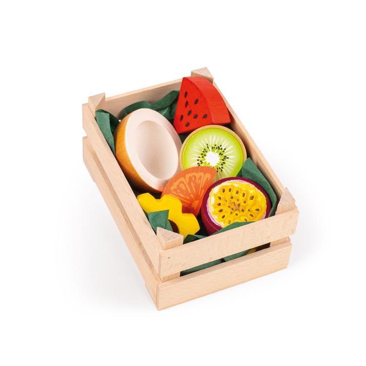 Erzi Sortiment Tropische Früchte, klein