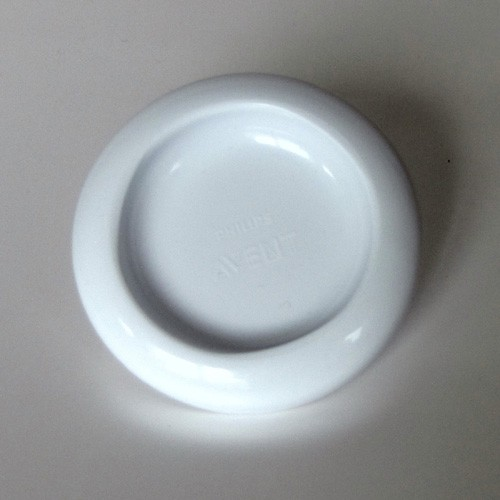 Standfuß / Trichterdeckel für Milchpumpe