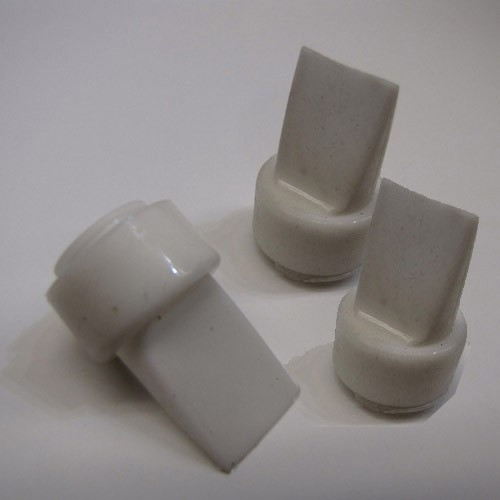 weiße Ventile für ISIS Milchpumpe, 3 Stück / Sparpreis