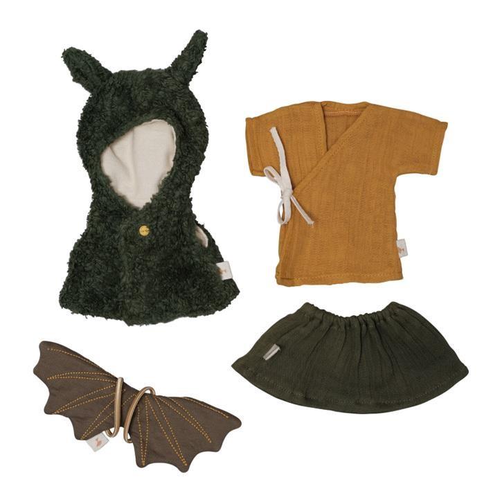Fabelab Puppenkleidungsset - Drachenumhang One Size