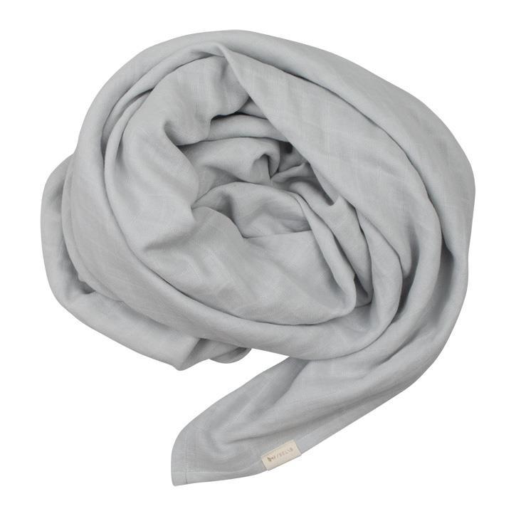 Fabelab Wickeltuch aus Musslin - Icy Grey