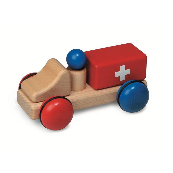 Fagus mini Krankenwagen 12.04 2+ 15x9,5x8cm