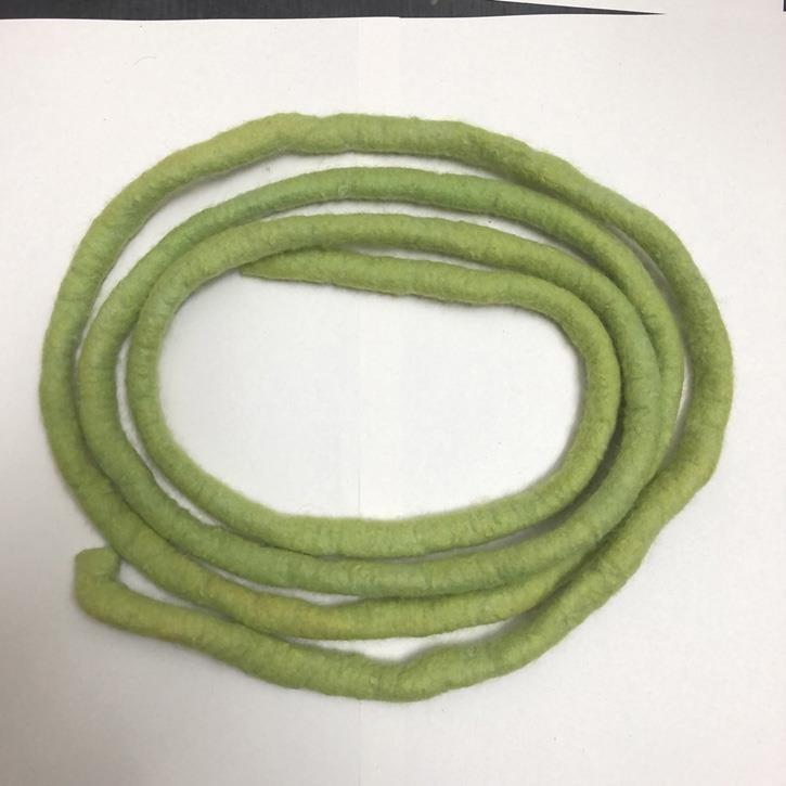 Filges Filzbänder, dünn, ca. 2 m lang, grasgrün