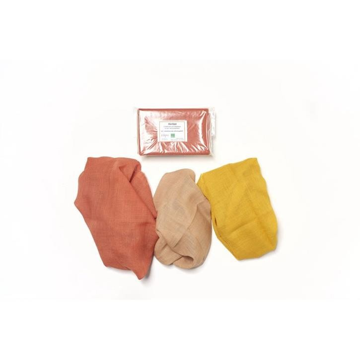Filges Jahreszeitentücher, Herbst, 65x65, Wolle