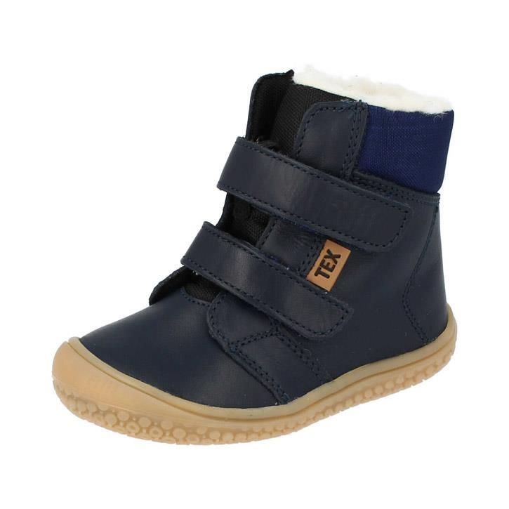 Filii-Barefoot Stiefel HIMALAYA Bio Klett Wool ocean