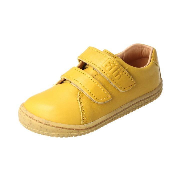 Filii Softwalk Klett mustard gelb Bioleder Barfußschuh  mittel