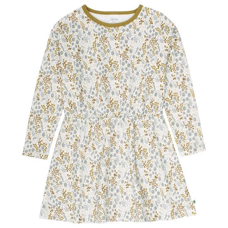Freds World Botany dress Sweatkleid Buttercream CO/95,EL/5