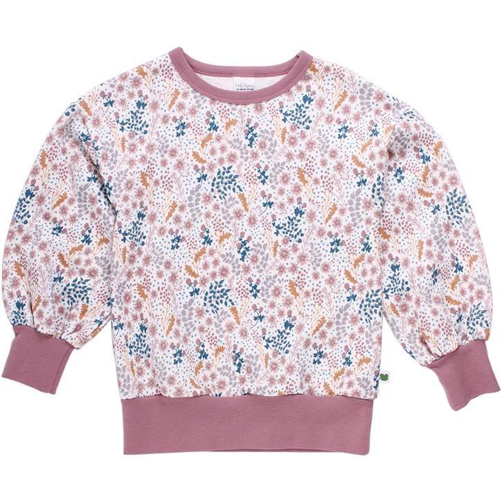 Freds World BOTANY Sweatshirt mit Blumenprint Cream