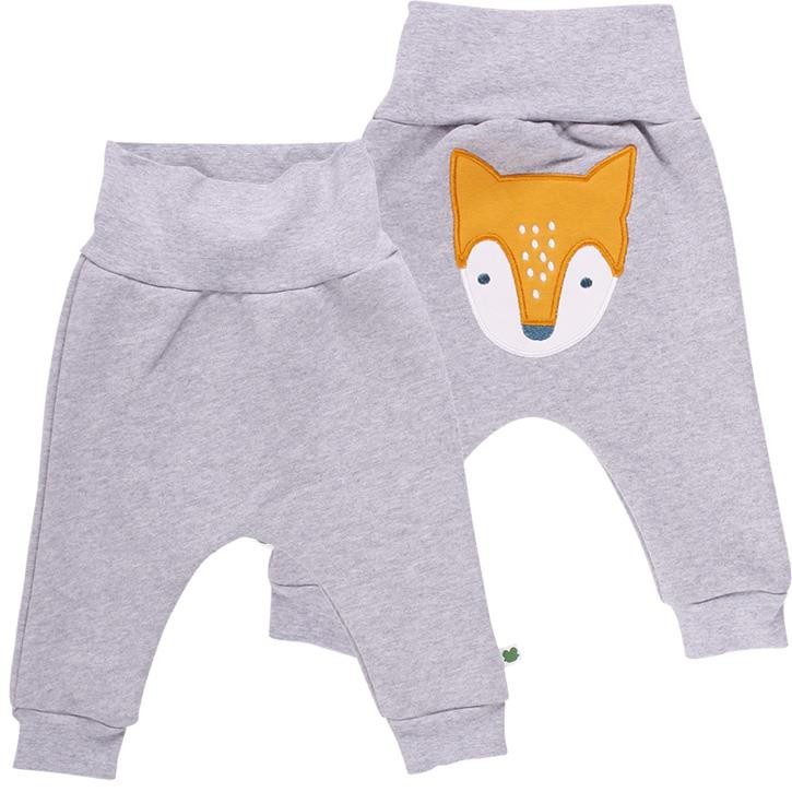 Freds World FOX Sweathose mit Fuchsapplikation Grey melange