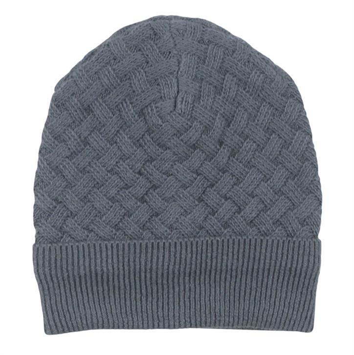 Freds World Knit weave beanie baby Strickmütze Stormy blue CO/100