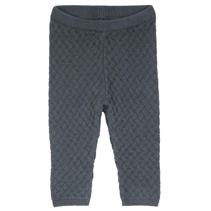 Freds World Knit weave pants baby Strickhose Stormy blue CO/100