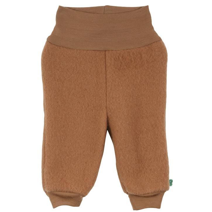 Freds World Wool fleece pants baby Fleecehose aus Merinowolle Almond Wo/100