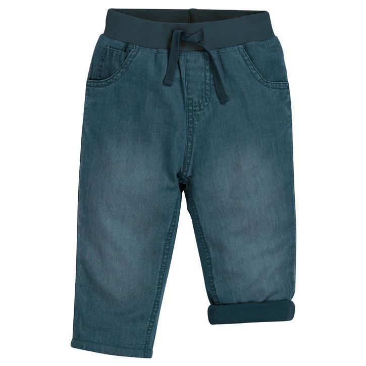 Frugi Bequeme gefütterte Jeans Chambray_AW20