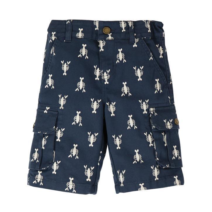 Frugi Explorer Shorts  Indigo Lobster