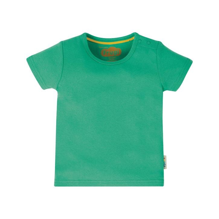 Frugi Favourite T-Shirt  Pacific Aqua 6-7J