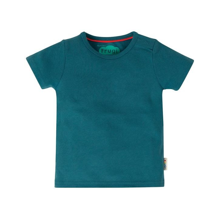 Frugi Favourite T-Shirt  Steely Blue