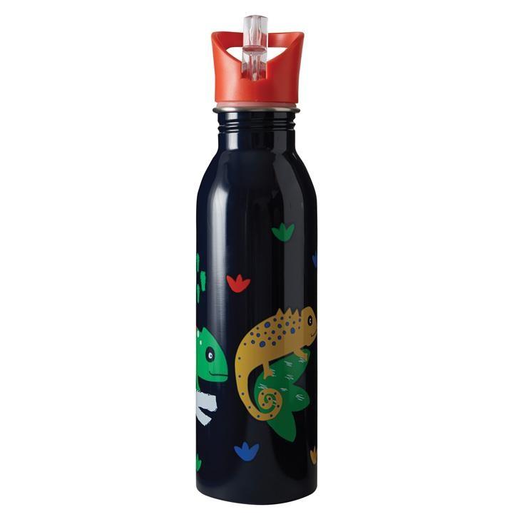 Frugi Große Splish Splash Flasche Chamäleon onesize Indigo/Chameleon