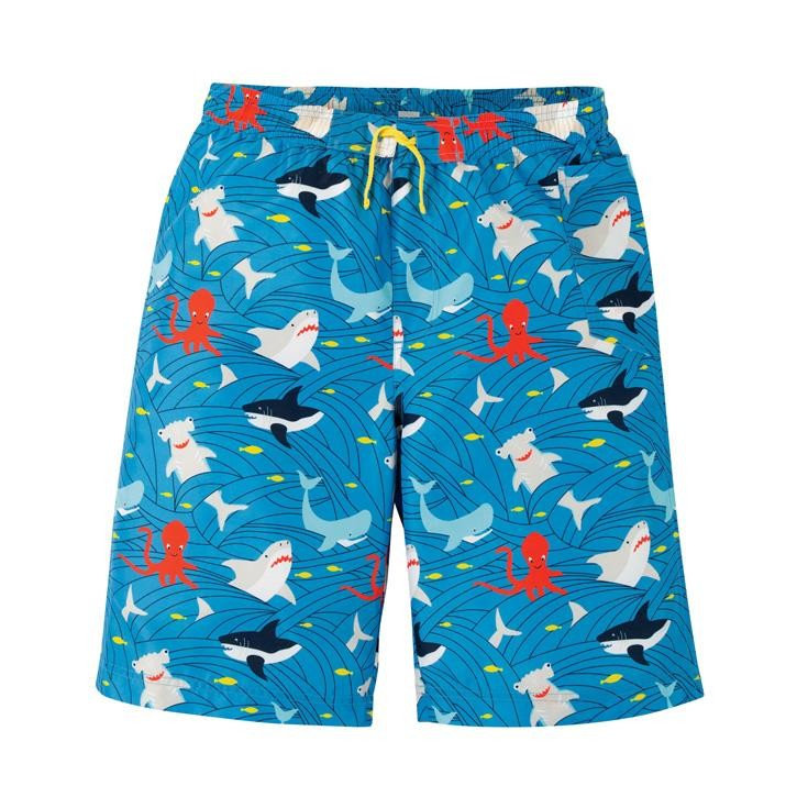Frugi Grown Ups Board Shorts  Go With The Flow