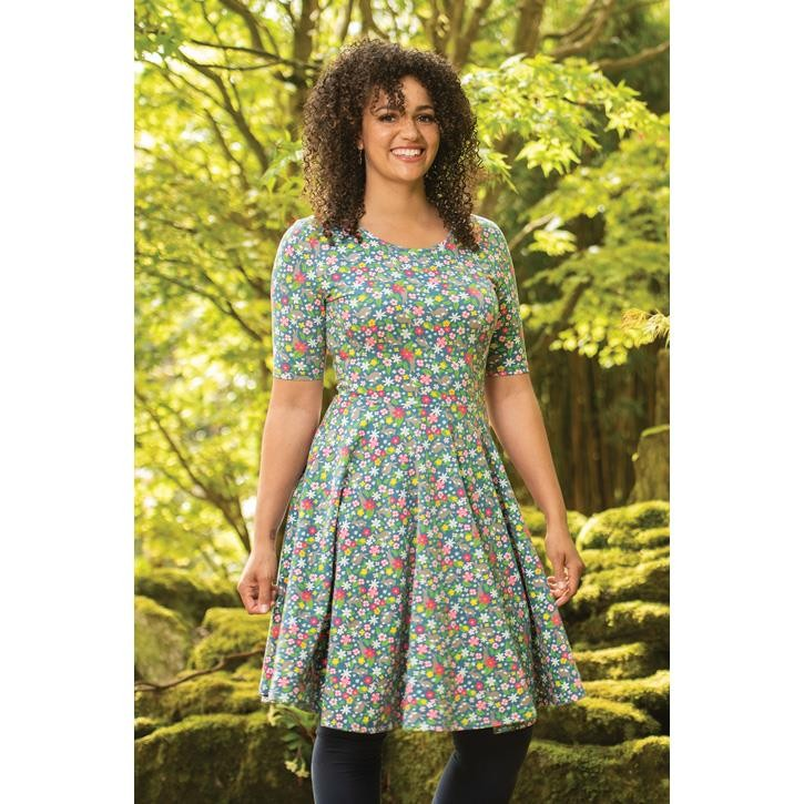 Frugi Grown Up Skater Kleid  Rabbit Fields