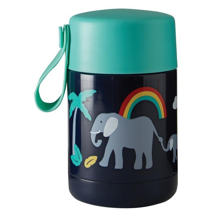 Frugi Isolierte Reisebecher onesize Indigo/Elephant