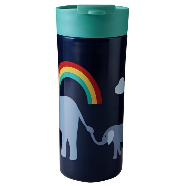 Frugi Isolierte Reiseflasche onesize Indigo/Elephant