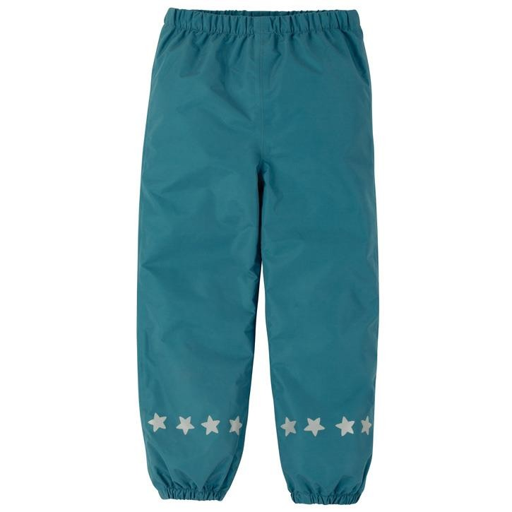 Frugi Rain or Shine Hose  Steely Blue