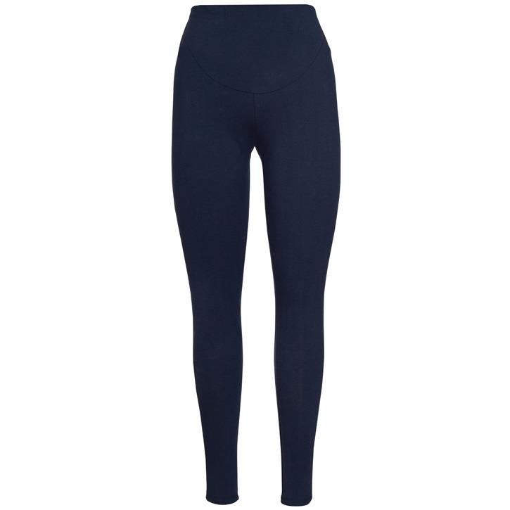 Frugi Roll Top Yoga Hose  Indigo